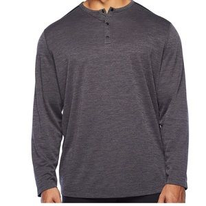 NWT The Foundry. Gray Henley. Size 2XLT
